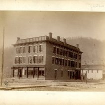 Image of Pineville bank and store building                                                                                                                                                                                                                              - Rogers Clark Ballard Thruston Mountain Collection