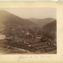 Image of Panoramic view of Pineville                                                                                                                                                                                                                                    - Rogers Clark Ballard Thruston Mountain Collection