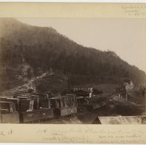 Image of Asher's Mill and Lumber Yard                                                                                                                                                                                                                                   - Rogers Clark Ballard Thruston Mountain Collection