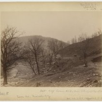 Image of Log boom and coke oven                                                                                                                                                                                                                                         - Rogers Clark Ballard Thruston Mountain Collection