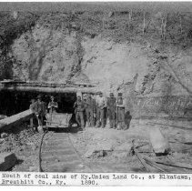 Image of Coal mine of Kentucky Union Land Company                                                                                                                                                                                                                       - Rogers Clark Ballard Thruston Mountain Collection