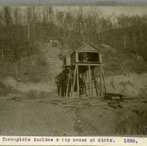 Image of Coal mine incline and tip house                                                                                                                                                                                                                                - Rogers Clark Ballard Thruston Mountain Collection