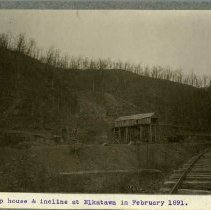 Image of Tipple house and incline                                                                                                                                                                                                                                       - Rogers Clark Ballard Thruston Mountain Collection
