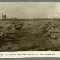 Image of Asphalt Rock Quarry                                                                                                                                                                                                                                            - Rogers Clark Ballard Thruston Mountain Collection