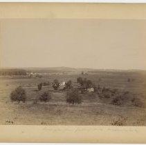 Image of Irvington from Jolley's Hill                                                                                                                                                                                                                                   - Rogers Clark Ballard Thruston Mountain Collection