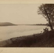 Image of River view above Cloverport                                                                                                                                                                                                                                    - Rogers Clark Ballard Thruston Mountain Collection