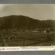 Image of View of southern Prestonsburg                                                                                                                                                                                                                                  - Rogers Clark Ballard Thruston Mountain Collection