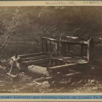 Image of Saw mill and turning lathe                                                                                                                                                                                                                                     - Rogers Clark Ballard Thruston Mountain Collection