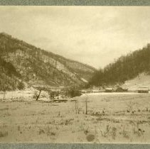 Image of E. C. Blair's homestead                                                                                                                                                                                                                                        - Rogers Clark Ballard Thruston Mountain Collection
