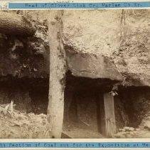 Image of Section of coal cut                                                                                                                                                                                                                                            - Rogers Clark Ballard Thruston Mountain Collection