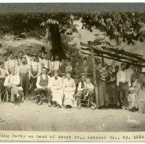 Image of Wedding party                                                                                                                                                                                                                                                  - Rogers Clark Ballard Thruston Mountain Collection