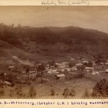 Image of Whitesburg looking east                                                                                                                                                                                                                                        - Rogers Clark Ballard Thruston Mountain Collection