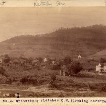 Image of Whitesburg looking north                                                                                                                                                                                                                                       - Rogers Clark Ballard Thruston Mountain Collection
