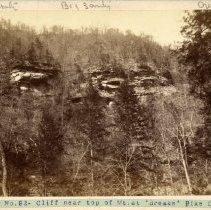 Image of Cliff near top of mountain                                                                                                                                                                                                                                     - Rogers Clark Ballard Thruston Mountain Collection
