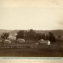 Image of Panoramic view of Williamsburg                                                                                                                                                                                                                                 - Rogers Clark Ballard Thruston Mountain Collection