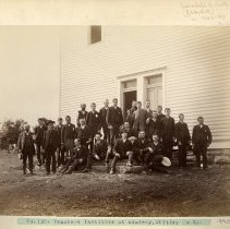 Image of Teachers Institute of Whitley County                                                                                                                                                                                                                           - Rogers Clark Ballard Thruston Mountain Collection