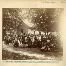 Image of Baptist meeting at Wolf Creek                                                                                                                                                                                                                                  - Rogers Clark Ballard Thruston Mountain Collection