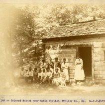 Image of African American School                                                                                                                                                                                                                                        - Rogers Clark Ballard Thruston Mountain Collection