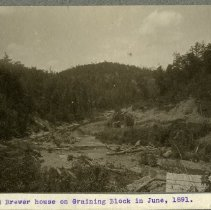 Image of Old Brewer house                                                                                                                                                                                                                                               - Rogers Clark Ballard Thruston Mountain Collection