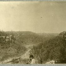 Image of View from top of cliff                                                                                                                                                                                                                                         - Rogers Clark Ballard Thruston Mountain Collection