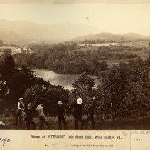 Image of Men at Horton Hill                                                                                                                                                                                                                                             - Rogers Clark Ballard Thruston Mountain Collection