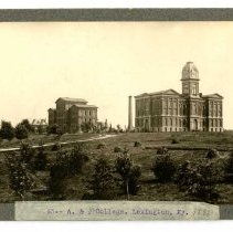 Image of Agricultural and Mechanical College                                                                                                                                                                                                                            - Rogers Clark Ballard Thruston Mountain Collection