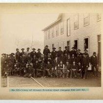 Image of Group of miners                                                                                                                                                                                                                                                - Rogers Clark Ballard Thruston Mountain Collection