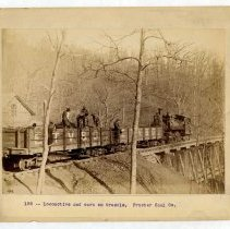 Image of Railway cars                                                                                                                                                                                                                                                   - Rogers Clark Ballard Thruston Mountain Collection