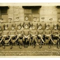Image of Officers of Camp Entrainment Station - Subject Photograph Collection