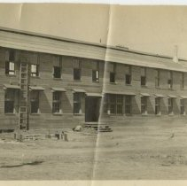 Image of Barracks construction - Subject Photograph Collection