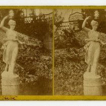 "Image of ""Hebe"" statue - Louisville Stereocard Collection"
