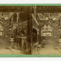 Image of  J.S. Lithgow display - Louisville Stereocard Collection