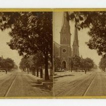 Image of Unidentified Louisville Church - Louisville Stereocard Collection