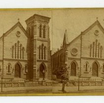 Image of Broadway Baptist Church - Louisville Stereocard Collection