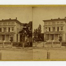Image of Captain Silas Miller House - Louisville Stereocard Collection