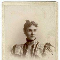 Image of Unidentified woman - Walter-Long Family Photograph Collection