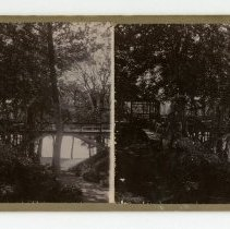 Image of River View Park - Louisville and Indiana Views Stereocard Collection