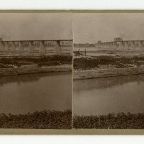 Image of 14th Street Bridge - Louisville and Indiana Views Stereocard Collection