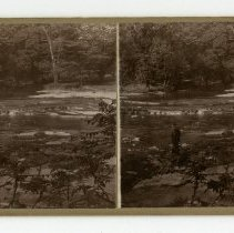 Image of Beargrass Creek - Louisville and Indiana Views Stereocard Collection