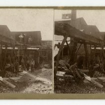 Image of Unidentified Work Scene  - Louisville and Indiana Views Stereocard Collection