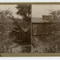 Image of Unidentified Buildings - Louisville and Indiana Views Stereocard Collection