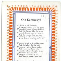 Image of Old Kentucky                                                                                                                                                                                                                                                   - Postcard Collection