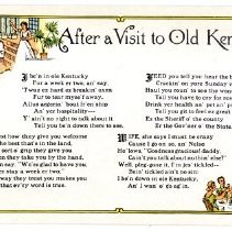 Image of After a Visit to Old Kentucky                                                                                                                                                                                                                                  - Postcard Collection
