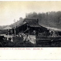 Image of Log cabin                                                                                                                                                                                                                                                      - Postcard Collection