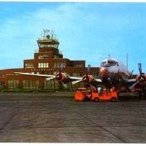 Image of Standiford Field Municipal Airport                                                                                                                                                                                                                             - Postcard Collection