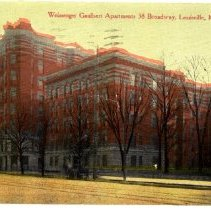 Image of Weissenger-Gaulbert Apartments                                                                                                                                                                                                                                 - Postcard Collection