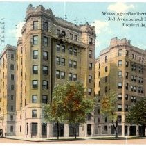 Image of Weissinger-Gaulbert Apartments                                                                                                                                                                                                                                 - Postcard Collection