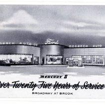 Image of Monarch Auto Company                                                                                                                                                                                                                                           - Postcard Collection