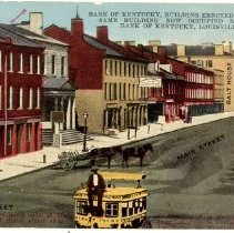 Image of View of Main Street                                                                                                                                                                                                                                            - Postcard Collection