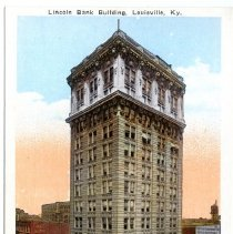 Image of Lincoln Bank Building                                                                                                                                                                                                                                          - Postcard Collection